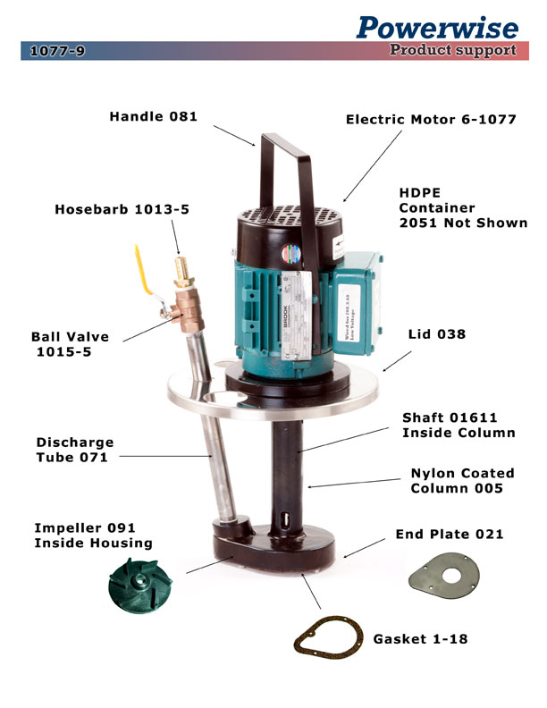 1077-9 Electric Powerwise Ink Pump